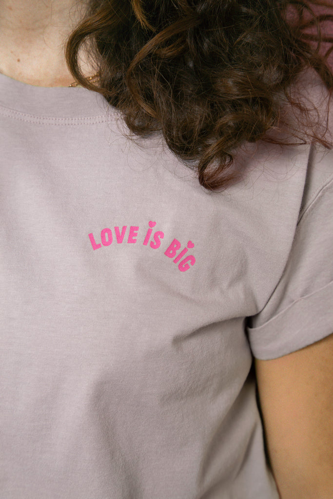LOVE iS BiG - en rose intense, pour que l'amour dure toujours !