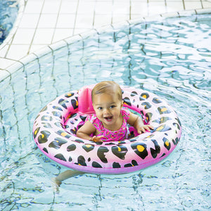 Swim Essentials Baby zwemband panterprint