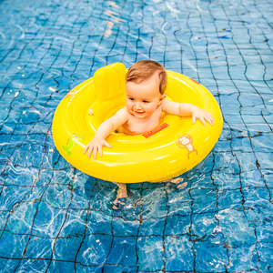 Swim Essentials Baby float geel