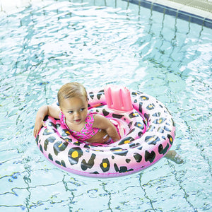 Panterprint baby float 0-1 jaar