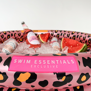 Swim Essentials IJskoeler Panterprint Rosé goud