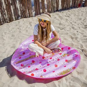 Swim Essentials Roze Hart water luchtbed