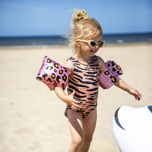 Swim Essentials Zwembandjes Panterprint Roze