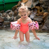 Swim Essentials Zwembandje Panterprint Roze