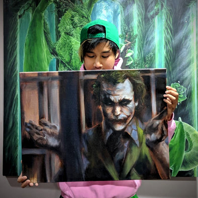 Original Joker Painting Raffle