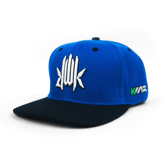 KMR. Statements Cap (Sonic Blue)