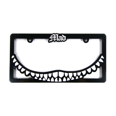 Mad Smile Plate Frame