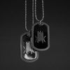Kmr. Dog Tag (BLACK HOLLOW)