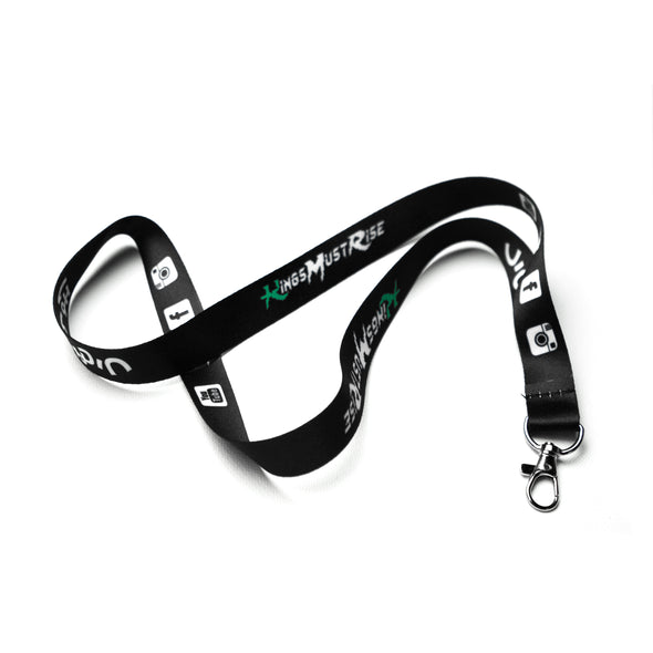 Black KMR Lanyard (New Design)