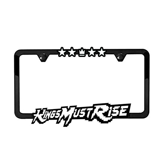 METAL KMR License Plate Frame