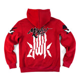 KMR. 'Broken Character' Pullover (RED)