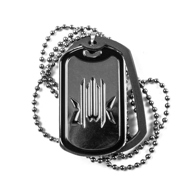 Kmr. Dog Tag (SILVER)