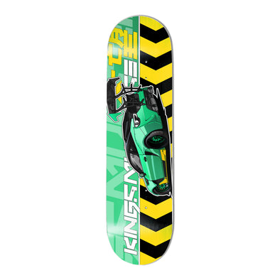 "KMR. Caution 8.25"" Skate Deck"