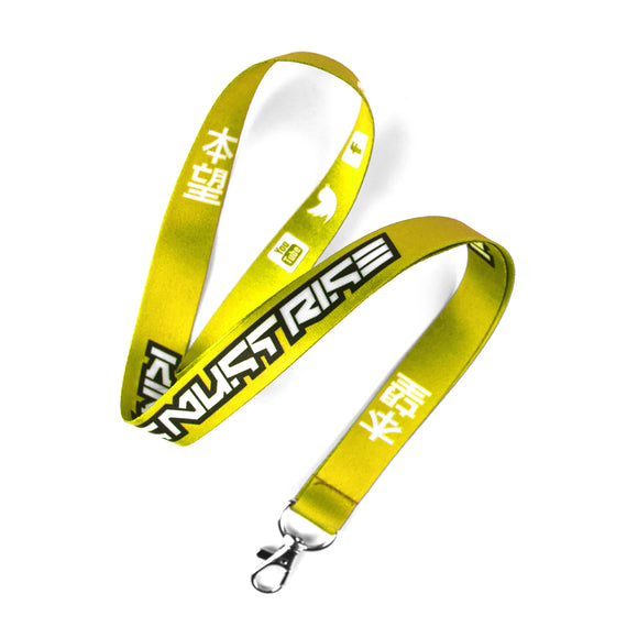 Yellow KMR Lanyard