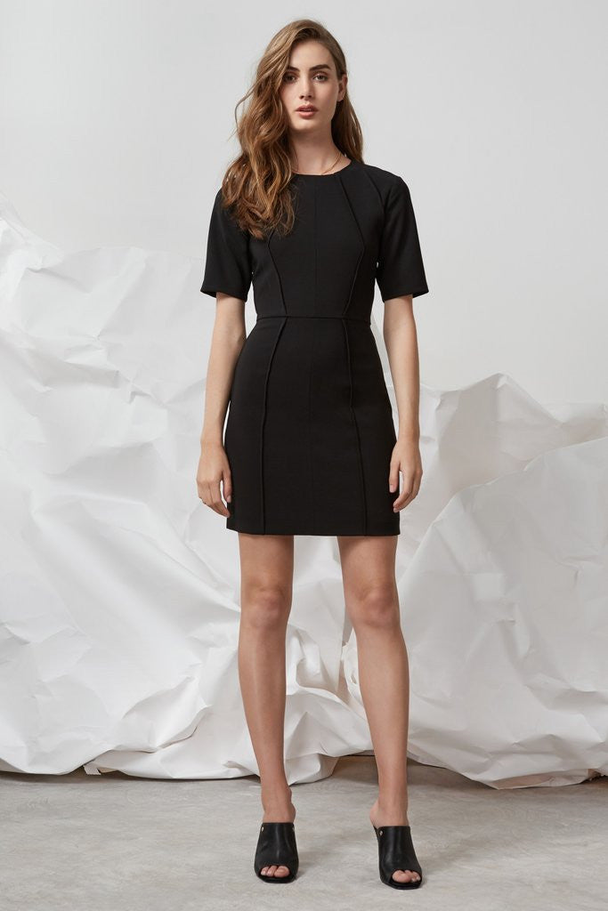 Divide Mini Dress