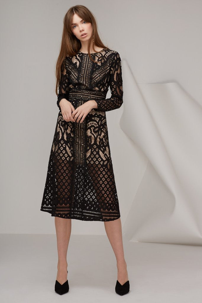 Bridges Lace L/S Dress