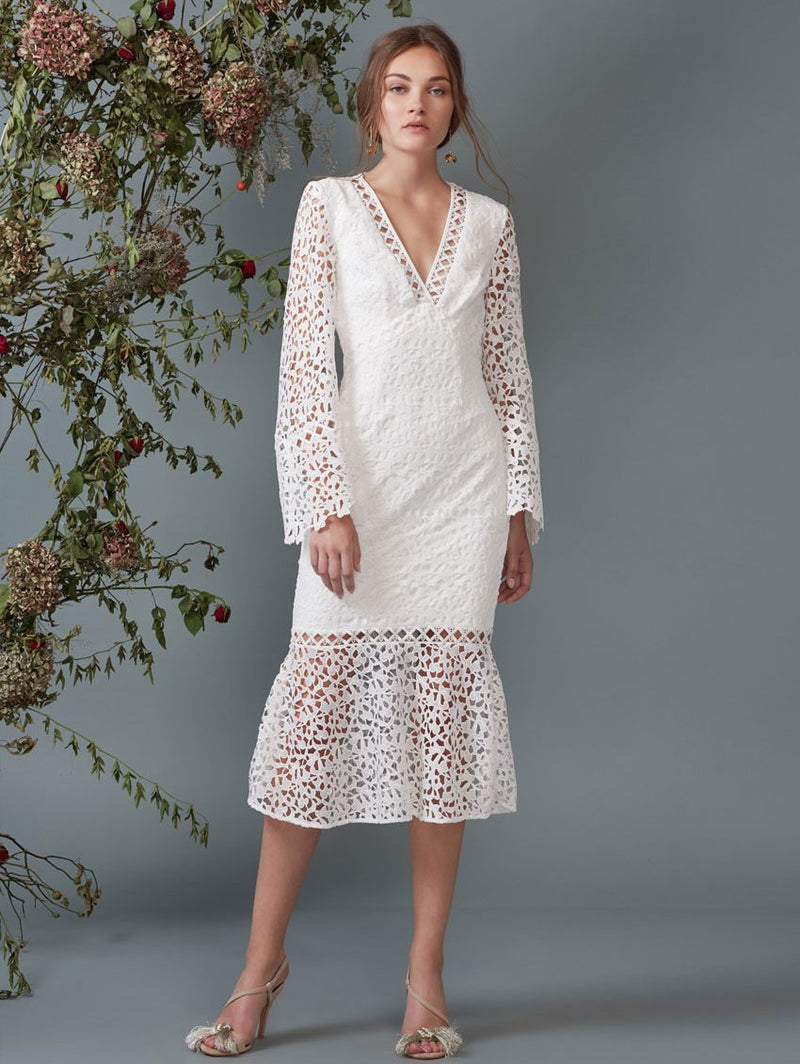 Uplifted LS Midi Dress