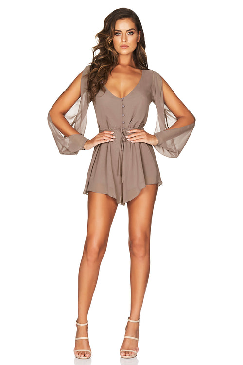 Sienna Sheer Playsuit