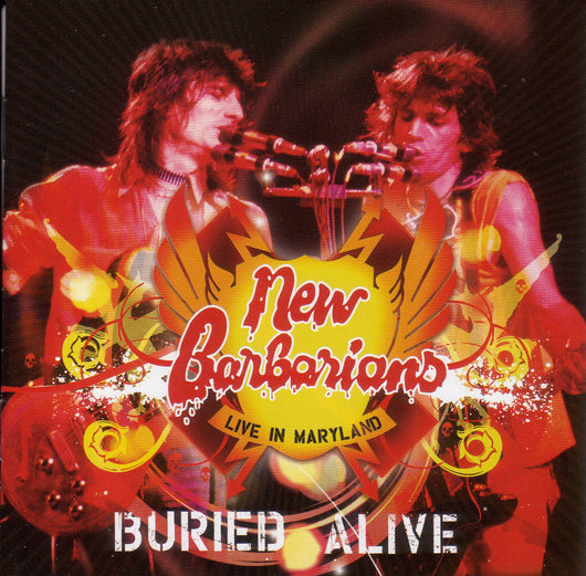New Barbarians - Buried Alive, Live In Maryland -  RSD19 3LP, Black, Red & Yellow Vinyl Opened/Slight Damaged Sleeve