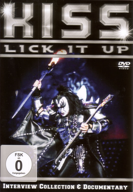 Kiss - Lick It Up - DVD
