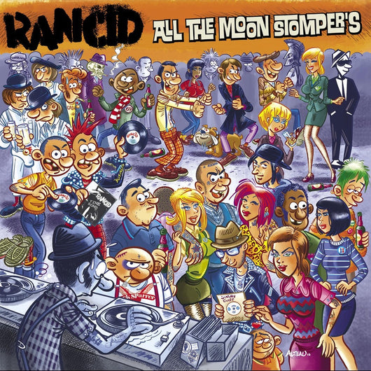 Rancid - All The Moonstompers - CD - Opened Copy
