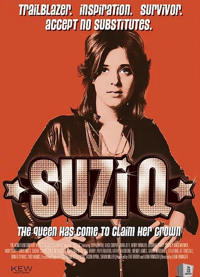 Suzi Quatro - Suzi - Deluxe Collectors Edition  - DVD - (Normal & Signed copies)