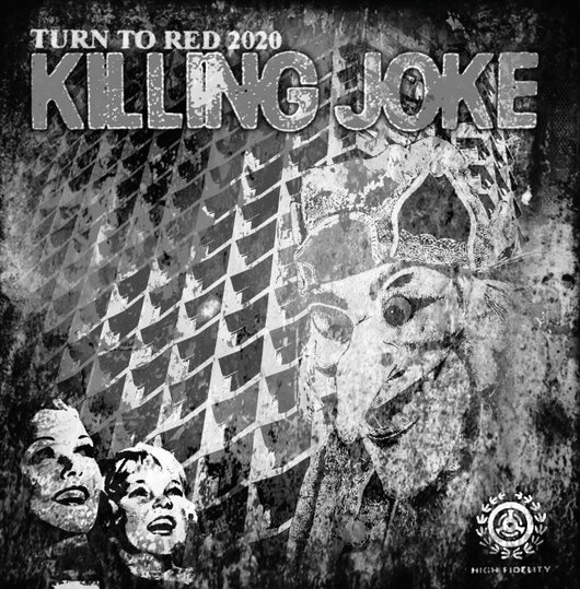 Killing Joke - Turn To Red 2020 Black & White Sleeve - Black 12