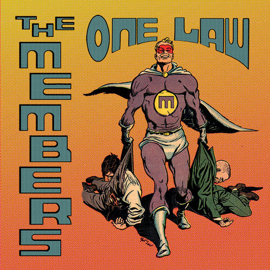 The Members - One Law - Vinyl LP (Black or Orange)