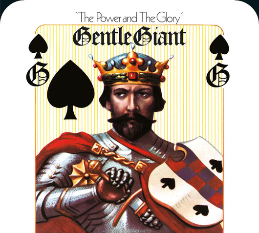 Gentle Giant - Power & The Glory - CD & CD+BluRay & CD+DVD