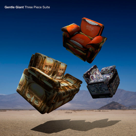 Gentle Giant - Three Piece Suite - CD & CD+BluRay