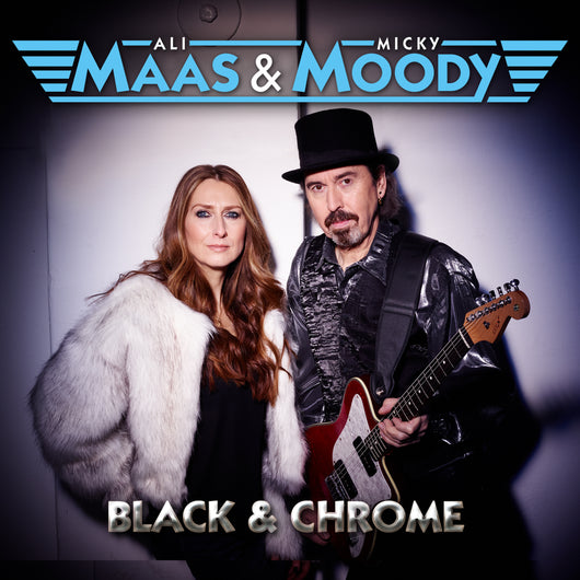 Ali Maas & Micky Moody - Black And Chrome - CD