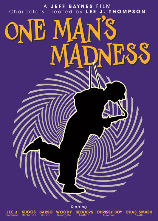 Lee Thompson - One Man's Madness - DVD - Opened Copy