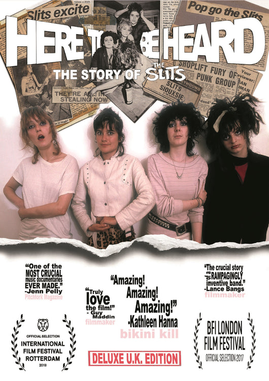 The Slits - Here To Be Heard - DVD - Ex shop stock