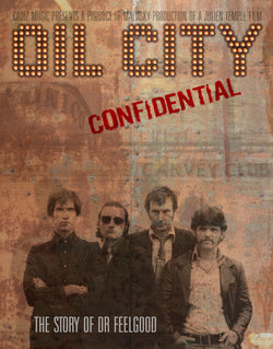 Dr Feelgood - Oil City Confidential 10th Anniversary 2 DVD Metal Tin (PREORDER) First 100 orders Includes a free T-Shirt