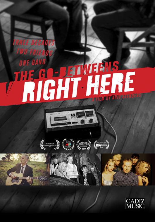 The Go-Betweens - Right Here - DVD - Ex shop stock