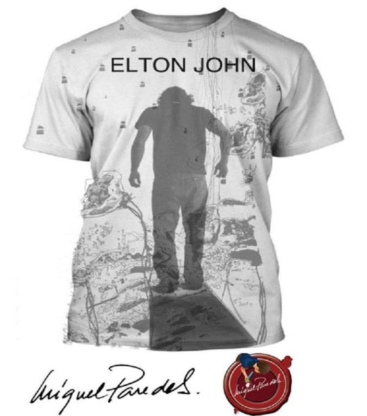 Elton John - Diving Board - Astrella T Shirt