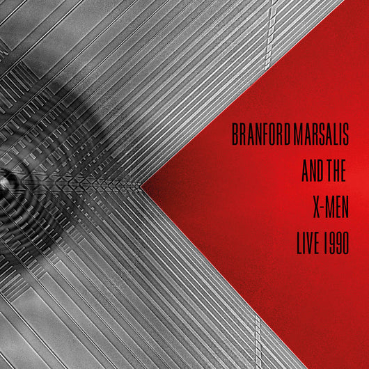Branford Marsalis And The X-Men - Live 1990 - CD - Released 11/12/20