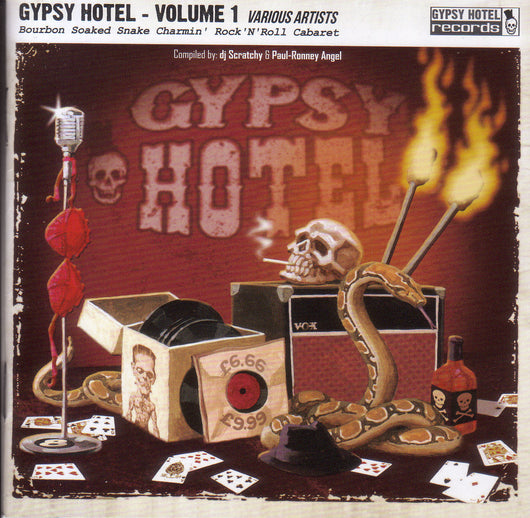 Urban Voodoo Machine -  Gypsy Hotel - Volume 1 - CD