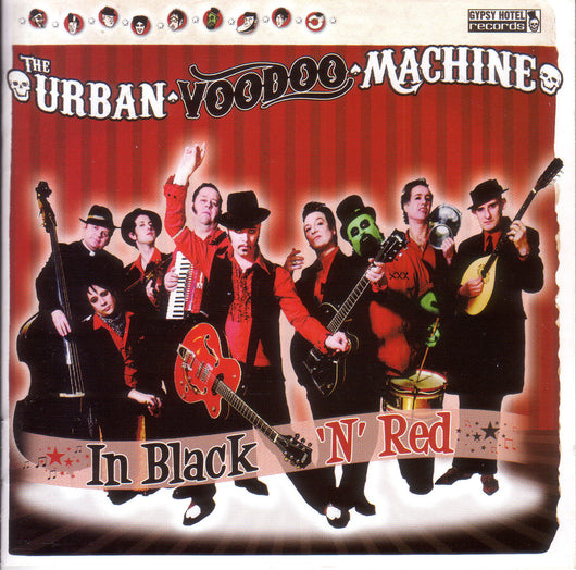 Urban Voodoo Machine -  In Black 'N' Red - CD