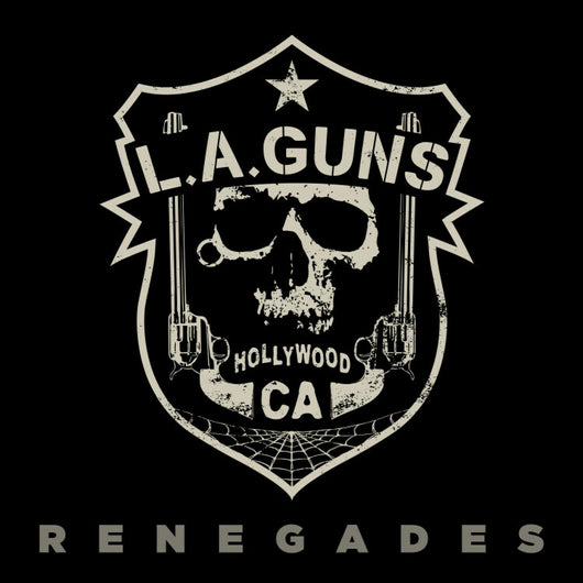 LA Guns - Renegades - Ltd Ed White Vinyl LP