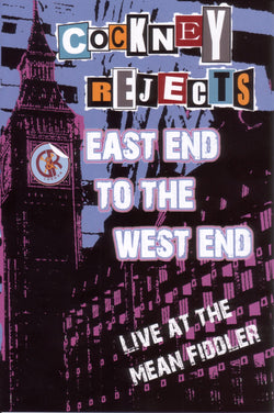 Cockney Rejects - East End To The West End DVD/CD