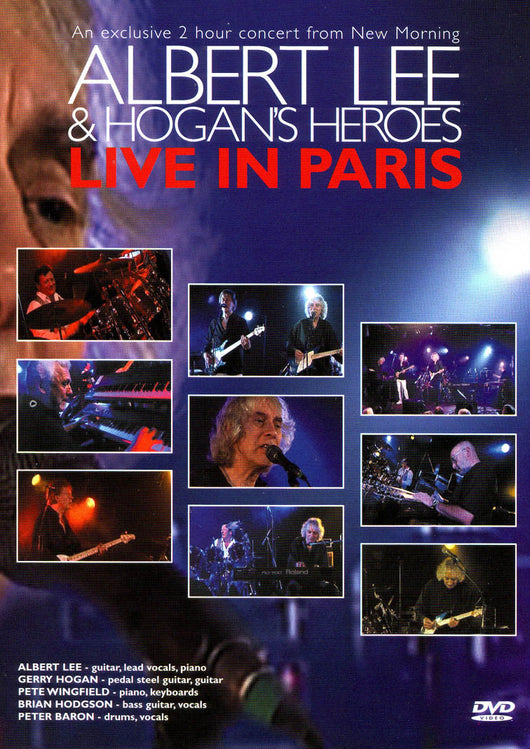 Albert Lee & Hogan's Heroes - Live In Paris DVD