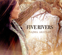 Najma Akhtar - Five Rivers - CD