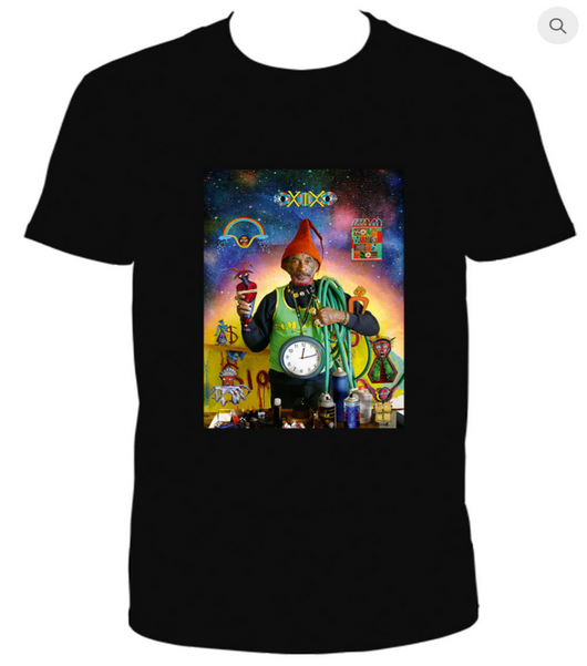 Lee Perry - Vision Of Paradise - T Shirt - Film Poster Design