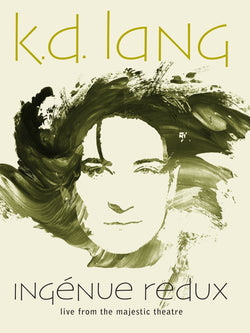 KD Lang - Ingenue Redux - Live from The Majestic Theatre DVD/BluRay