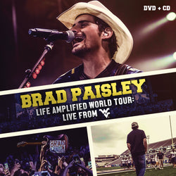Brad Paisley - Life Amplified World Tour: Live From WVU DVD & CD