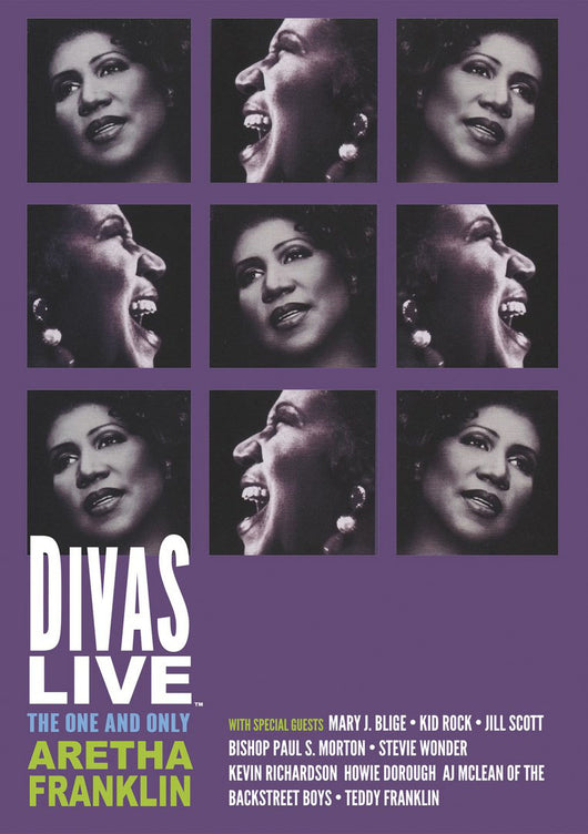 Aretha Franklin - Divas Live - The One And Only Aretha Franklin - DVD