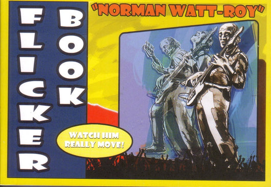Norman Watt-Roy - Flicker Book - Signed by Norman Watt-Roy
