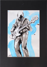 Original Norman Watt-Roy Flicker Book Drawing by Tadeus Blower (artist signed) #3