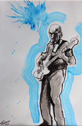 Original Norman Watt-Roy Flicker Book Drawing by Tadeus Blower (artist signed) #5